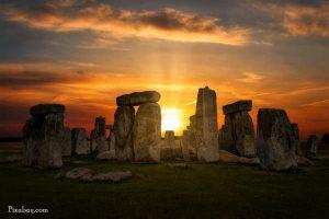 henge and sunrise sunset